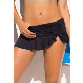 Angel Siyah Mini Etekli Bikini