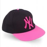 NY Spor Pembe Siyah Şapka