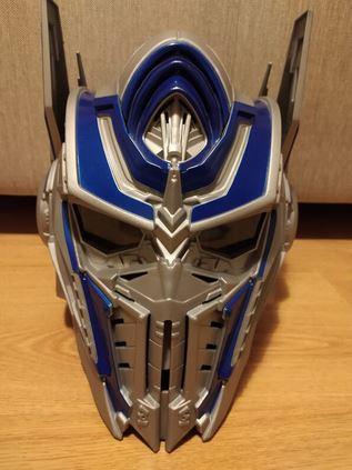 Transformers 5 Maske Başlık Kask Ses Dönüştürücü