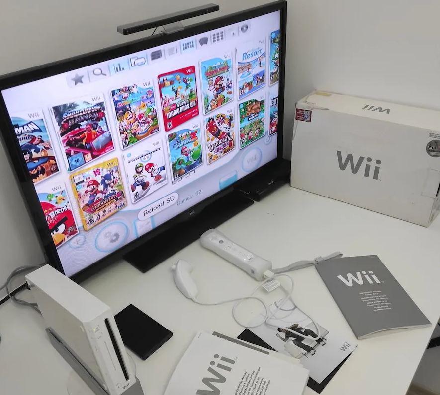 Nintendo Wii Oyun Konsolu 62 Oyun Set