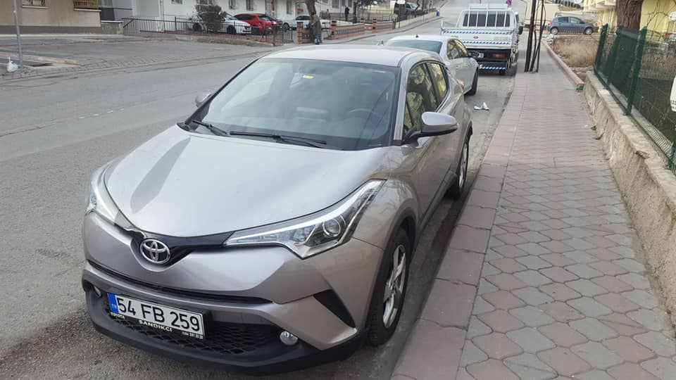 Toyota C-HR 1.2 Turbo Advance Otomatik