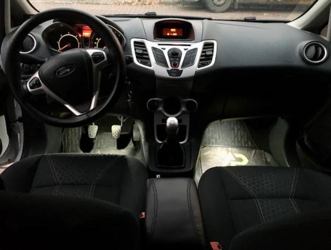 2011 Ford Fiesta TDCI Titanium 5K 1.4