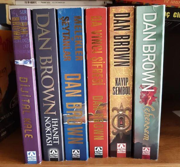 Dan Brown Kitap Serisi