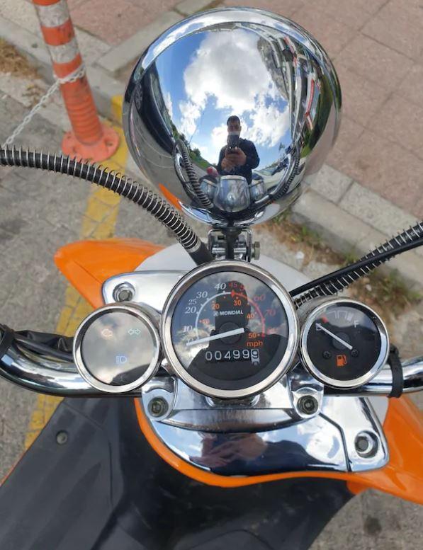 Mondial 50CC Nostalji Motosiklet