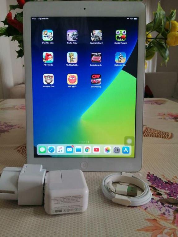 Apple iPad Air 1 Silver 16 GB Wi-Fi