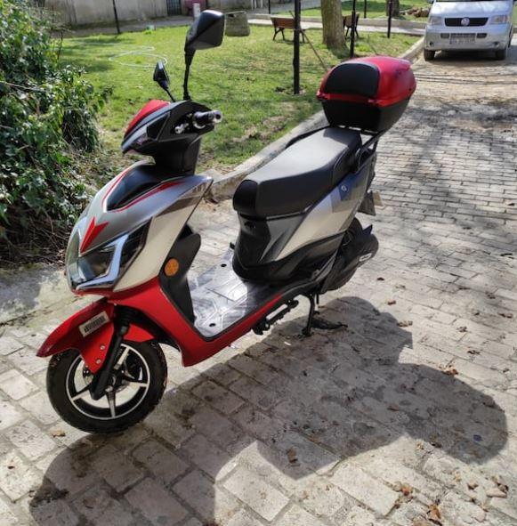 Arora Kaplan Elektrikli Motosiklet 2020