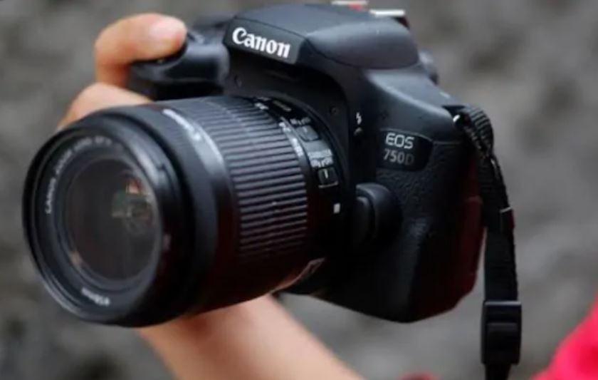 Canon EOS 750D Fotoğraf Makinesi