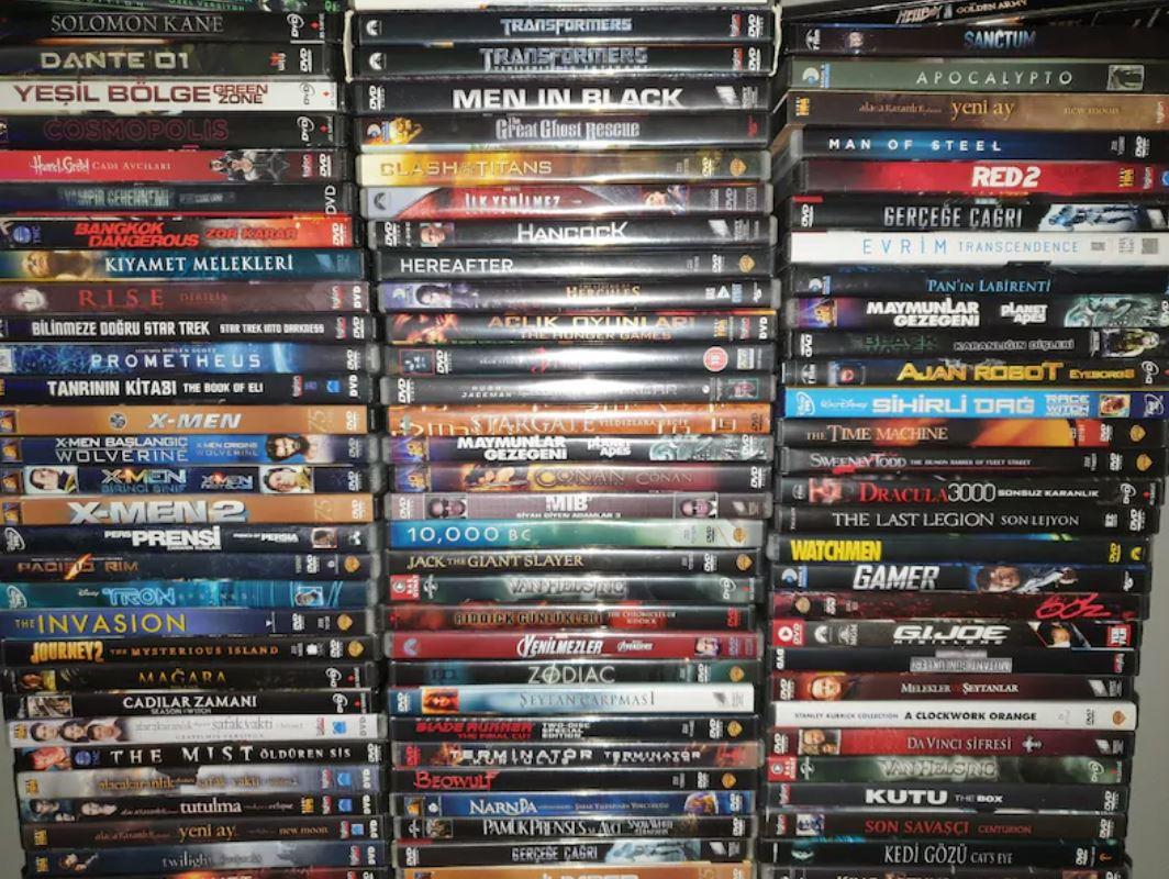 DVD Film Koleksiyonu