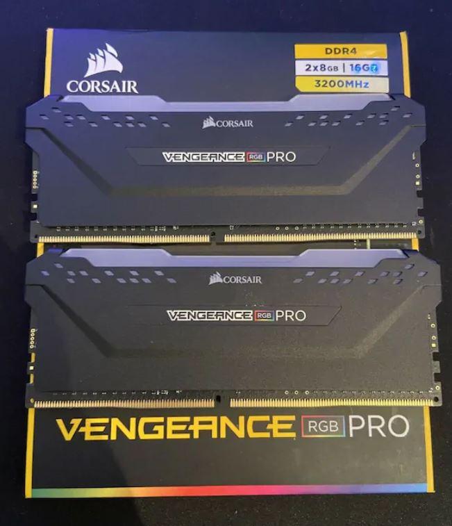 Corsair Vengeance RGB PRO 16GB RAM