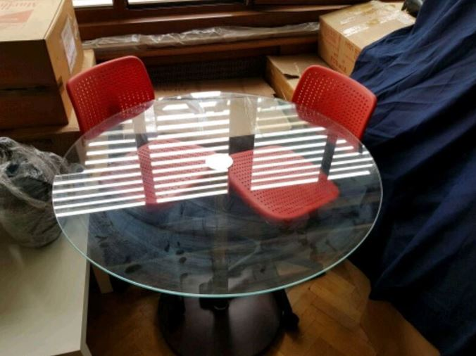 Cam Masa 2 Sandalye Istanbul Şişli