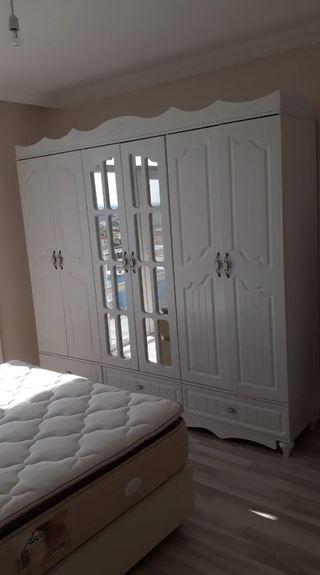 Beyaz Yatak Odası Takımı