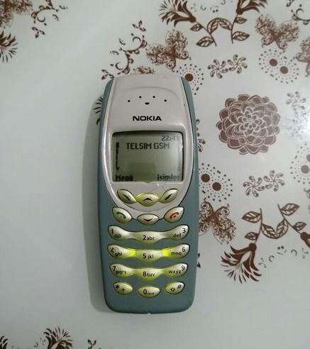 Nokia 3410 Tuşlu Telefon