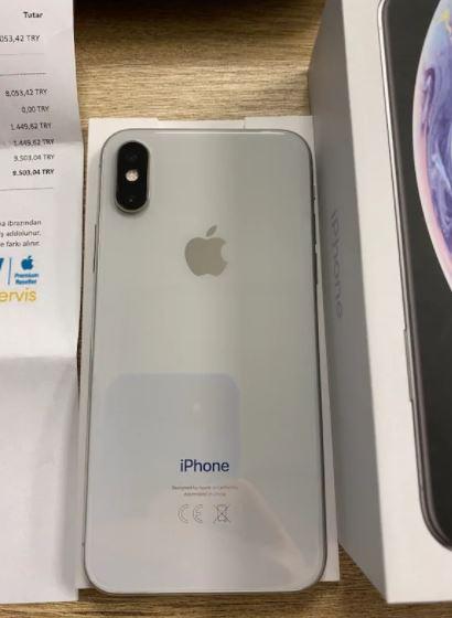 iPhone X 64 GB Garantili Temiz