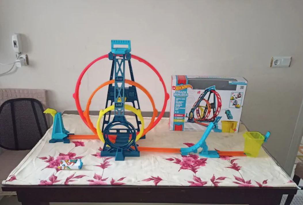 Hot Wheels Track Builder Parkur Seti