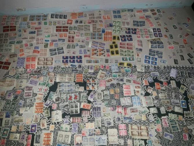 630 Adet Koleksiyon Posta Pulu