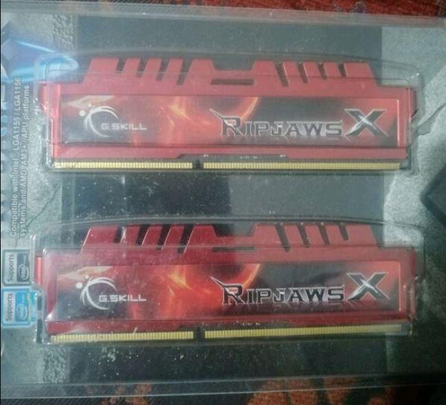 G.Skill 8 GB DDR3 1600Mhz RAM