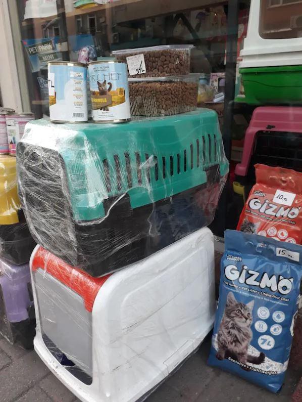 Kedi Köpek Taşıma Kafesi Box