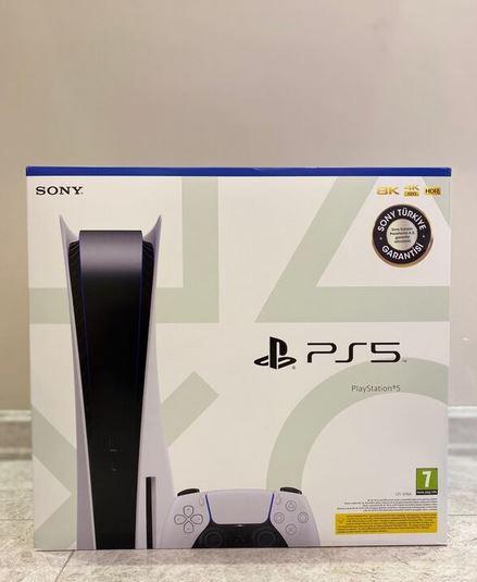 PS5 CD Sony TR Garantili