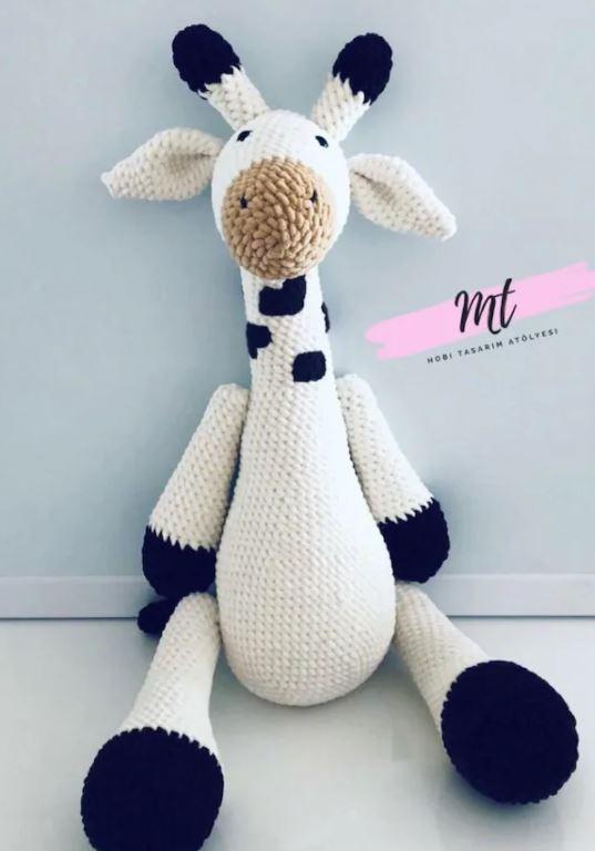 Amigurumi Zürafa Oyuncak