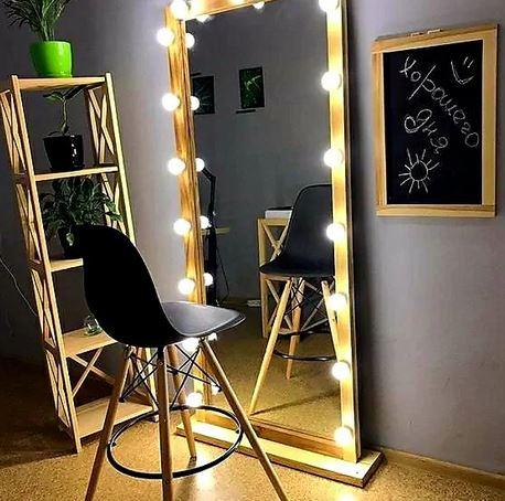 Işıklı Boy Aynası Makyaj Aynası Ayna