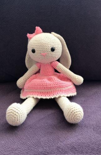 Tavşan Kız Amigurumi