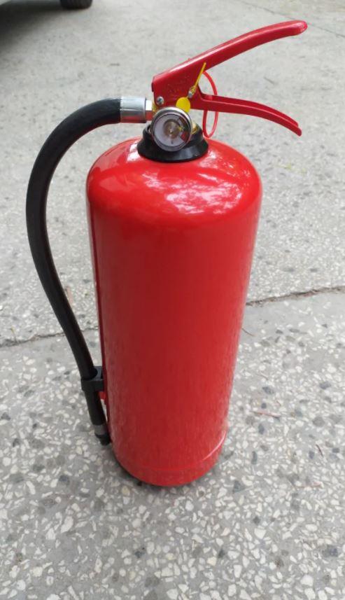 6KG Kuru Kimyevi Tozlu Yangın Tüpü