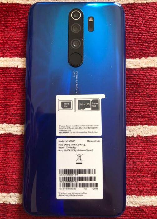 Samsung Note 8 Pro 128 GB