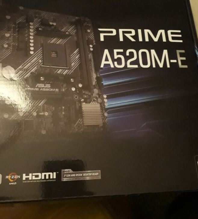 Asus Prime A520M-E Anakart