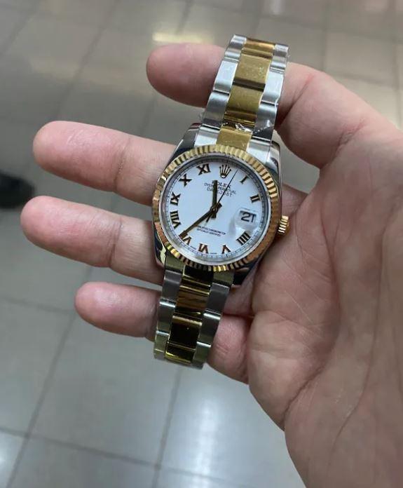 Rolex Date Just Minju 38MM Saat