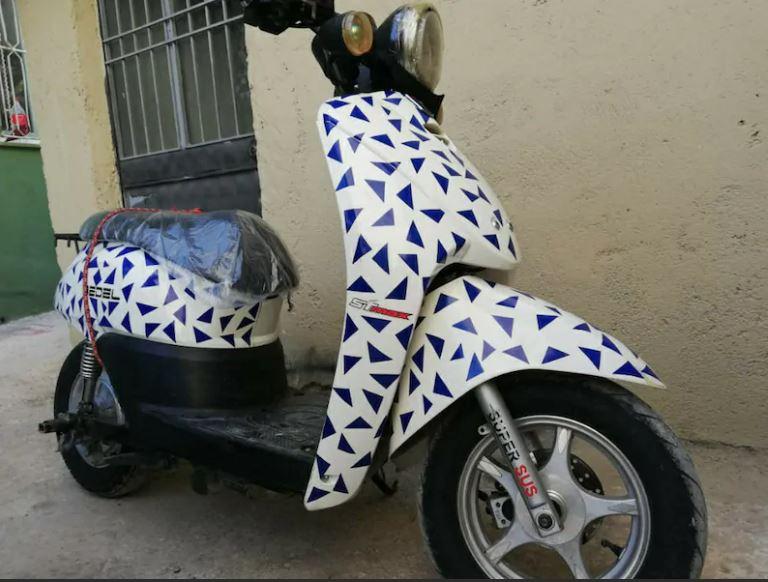 STMAX Dora Alfa Elektrikli Motosiklet