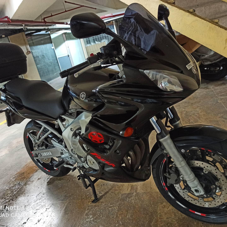 Yamaha FZ6 Fazer 2007 Model 2009 Çıkış