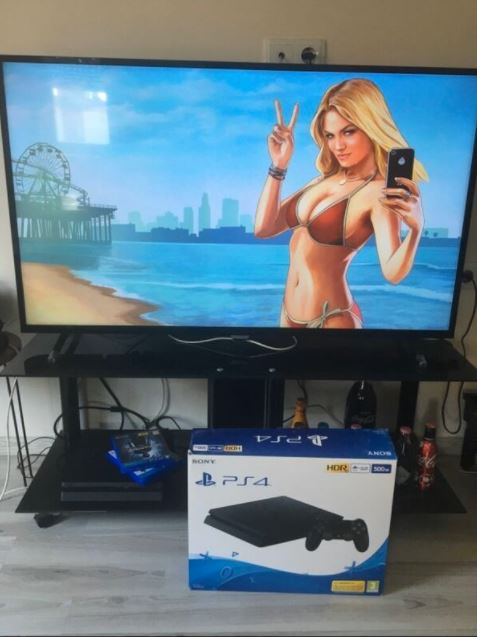 PS PlayStation 4 Full Set Oyunlu