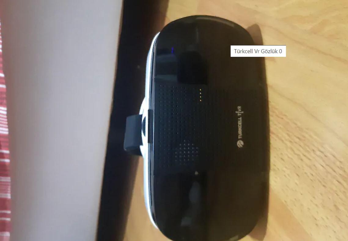 Turkcell VR Sanal Gerçeklik Gözlüğü