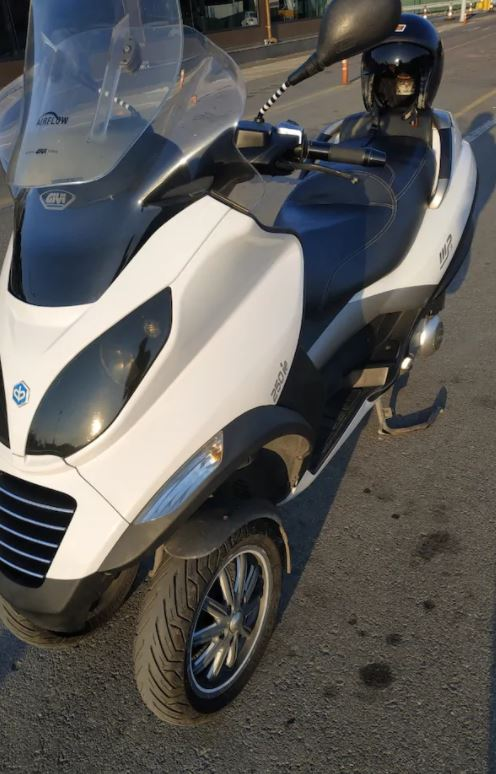 Piaggio MP3 250 Motosiklet Senetle Taksit