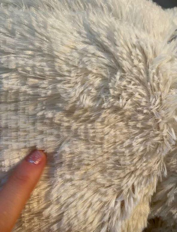 Beyaz Krem Peluş Ayıcık