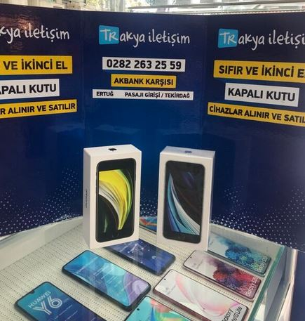 iPhone SE 2020 Kutulu Sıfır