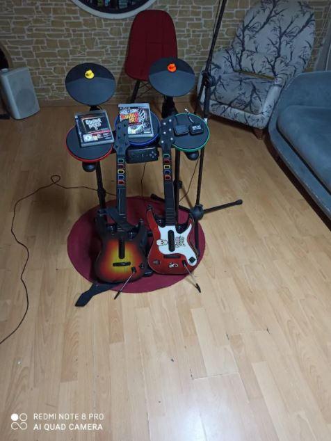Gitar Guitar Hero Seti