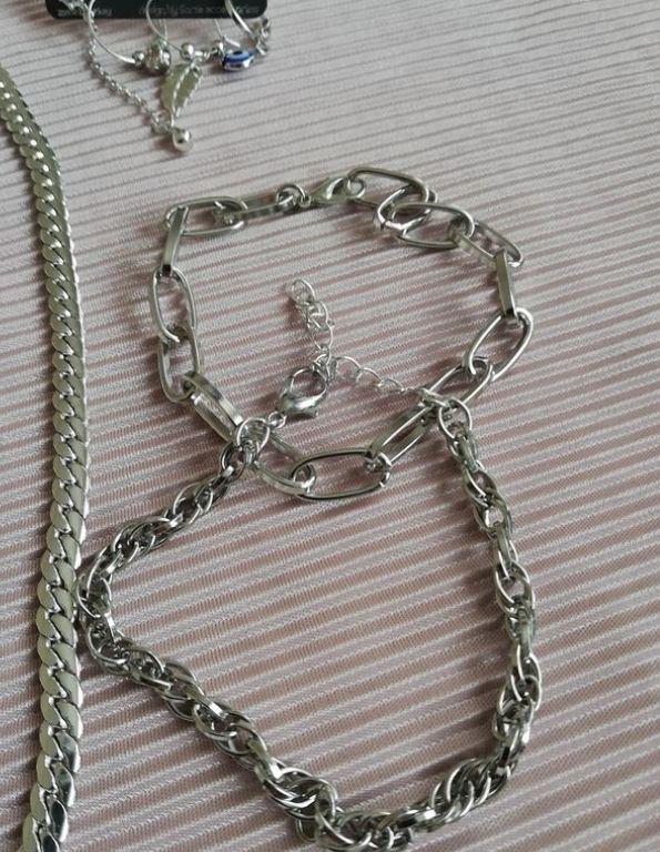 Gümüş Takım Kolye Bileklik Küpe Set