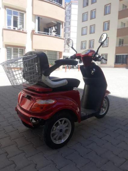 Kuba K5-T Elektrikli Motosiklet