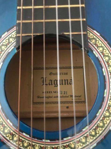 Laguna Klasik Gitar Parlak & Akor Cihazı