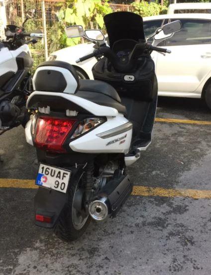 SYM GTS 250i Evo Temiz Motosiklet